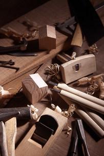 木工イメージの写真素材 [FYI03952428]