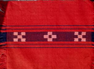ミンサー織りの写真素材 [FYI03952544]