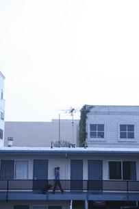 モーテルの外観の写真素材 [FYI03952690]