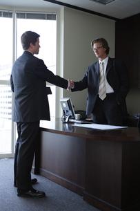 オフィスで部下に指示をするビジネスマンの写真素材 [FYI03952910]