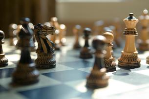 チェスの駒の写真素材 [FYI03954754]
