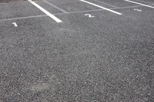 駐車場の番号の写真素材 [FYI03955757]