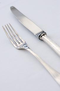 ナイフとフォークの写真素材 [FYI03955761]
