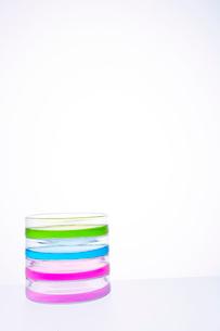 カラフルな色水の写真素材 [FYI03955888]