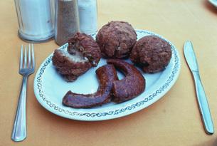 クレオールの朝食 アメリカ料理の写真素材 [FYI03956297]