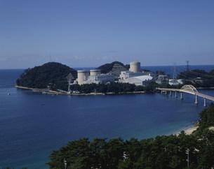 原子力美浜発電所関西電力の写真素材 [FYI03956371]