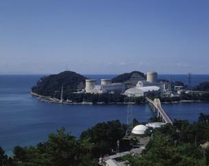 原子力美浜発電所 関西電力の写真素材 [FYI03956406]