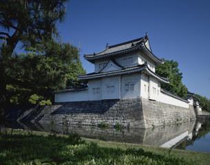 二条城東南隅櫓の写真素材 [FYI03956409]