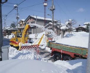 除雪の写真素材 [FYI03956422]
