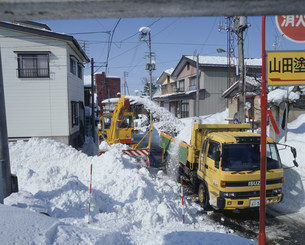 除雪の写真素材 [FYI03956597]