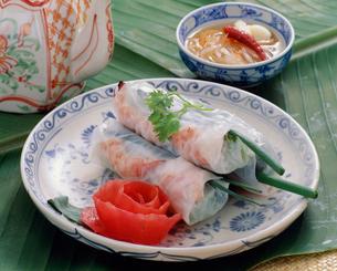 ゴイクオン(生春巻) ベトナム料理の写真素材 [FYI03956715]