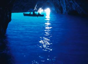 青の洞窟の写真素材 [FYI03957324]
