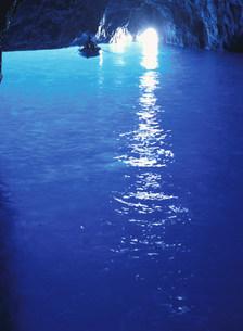 青の洞窟の写真素材 [FYI03957327]