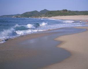 琴引浜の写真素材 [FYI03957391]