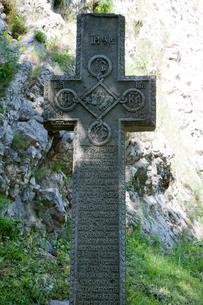 ドラキュラ封印の十字架の写真素材 [FYI03957785]
