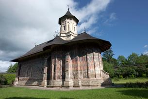モルドヴィツァ修道院の写真素材 [FYI03957819]