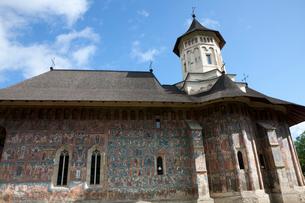 モルドヴィツァ修道院の写真素材 [FYI03957820]