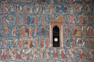 モルドヴィツァ修道院の写真素材 [FYI03957825]