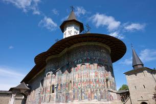 スチェヴィツァ修道院の写真素材 [FYI03957828]