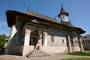 スチェヴィツァ修道院の写真素材 [FYI03957829]
