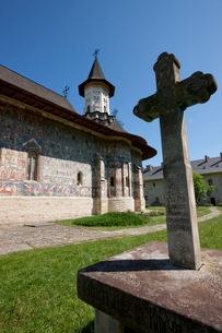 スチェヴィツァ修道院の写真素材 [FYI03957831]