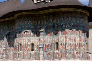 スチェヴィツァ修道院の写真素材 [FYI03957832]