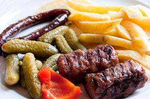 ルーマニア料理 ミティティの写真素材 [FYI03957858]