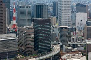 大阪市街の写真素材 [FYI03958331]