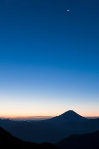 富士山 残月の写真素材 [FYI03958510]