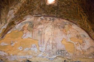 アムラ城 フレスコ画 世界遺産の写真素材 [FYI03958713]