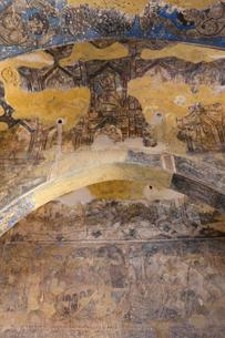 アムラ城 フレスコ画 世界遺産の写真素材 [FYI03958714]