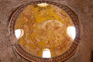 アムラ城 フレスコ画 世界遺産の写真素材 [FYI03958715]