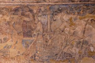 アムラ城 フレスコ画 世界遺産の写真素材 [FYI03958716]