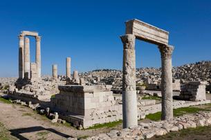アンマン城 ヘラクレス神殿の写真素材 [FYI03958718]