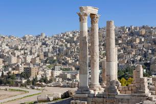 アンマン城 ヘラクレス神殿の写真素材 [FYI03958719]