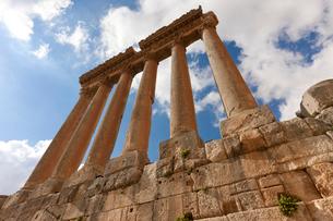 バールベック ジュピター神殿 世界遺産の写真素材 [FYI03958802]