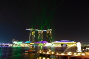 シンガポール マリーナ・ベイの写真素材 [FYI03958845]