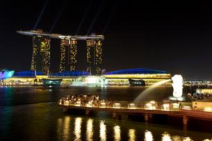 シンガポール マリーナ・ベイの写真素材 [FYI03958846]