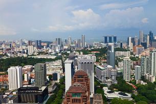 シンガポール アイオン・スカイから眺望の写真素材 [FYI03958858]