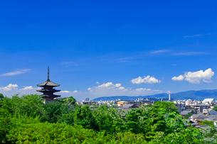 八坂の塔の写真素材 [FYI03958912]