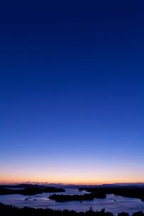 英虞湾の夕照の写真素材 [FYI03958995]