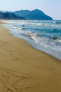琴引浜の写真素材 [FYI03959229]