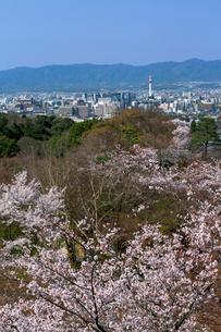 清水寺からの京都市内の写真素材 [FYI03959297]