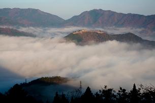 雲海の竹田城 の写真素材 [FYI03959465]