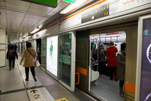 地下鉄1号線の写真素材 [FYI03959488]