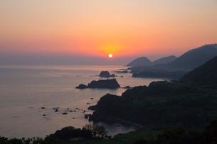 丹後松島 朝日の写真素材 [FYI03959653]