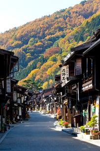 奈良井宿の写真素材 [FYI03959744]