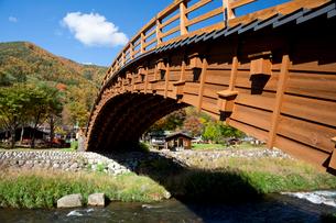 奈良井 木曽の大橋の写真素材 [FYI03959751]