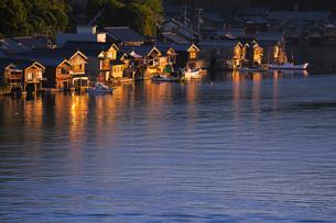 伊根の舟屋の写真素材 [FYI03959774]
