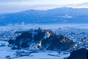 大野城 夜明け前の写真素材 [FYI03959796]